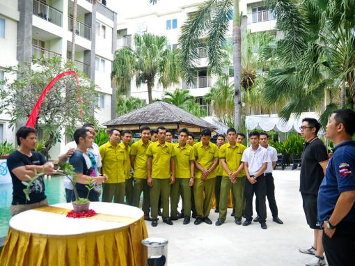 SWISS-BELHOTEL STAFF BRIEFING AS GENERAL MANAGER
