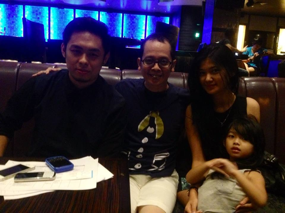 WITH ARI TULANG AT HARDROCK CAFE BALI