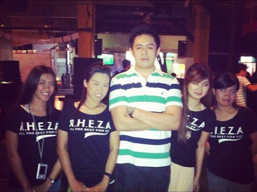 RHEZA AT HIS SPORT BAR CAFE ON HIS BIRTHDAY SURPRISE